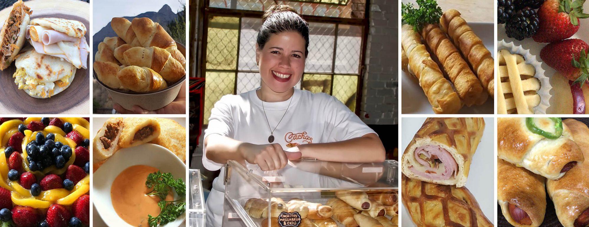 Cachos Bistro food collage